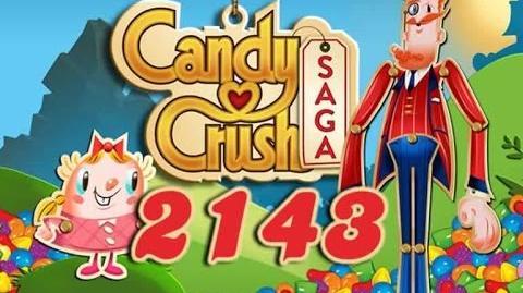 Candy Crush Saga Level 2143