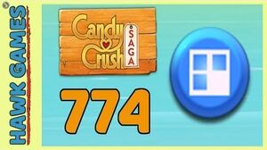 Candy Crush Saga Level 774 (Jelly level) - 3 Stars Walkthrough, No Boosters