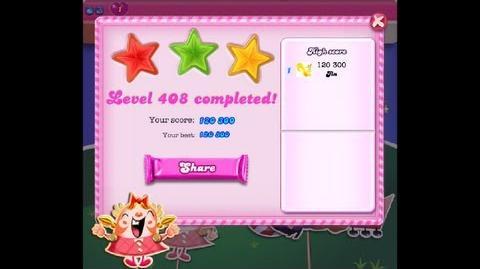 Candy Crush Saga Level 408 ★★★