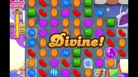Candy Crush Saga Level 663 (NEW, No Boosters, 1,000,000+ Points)