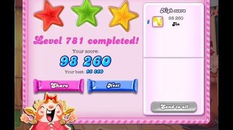 Candy Crush Saga Level 781 ★★★ NO BOOSTER