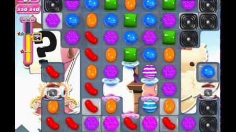 Candy Crush Saga level 696 (3 star, No boosters)