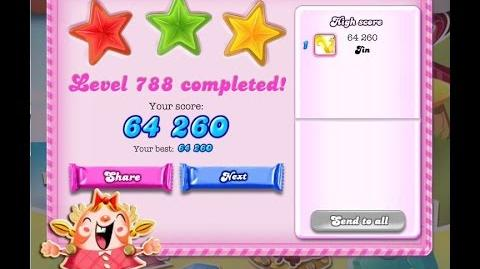 Candy Crush Saga Level 788 ★★★ NO BOOSTER-0