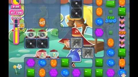 Candy Crush Saga Level 1912 ( New with 45 Seconds and Extra Time Candy Cannons ) No Boosters 1 Star
