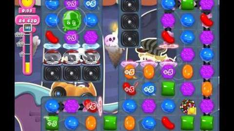 Candy Crush Saga Level 2053 ( New with 150,000 Points ) No Boosters 1 Star