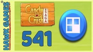 Candy Crush Saga Level 541 (Jelly level) - 3 Stars Walkthrough, No Boosters