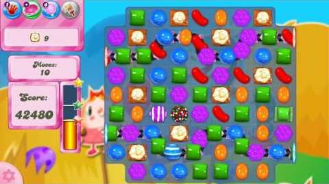 Candy Crush Saga LEVEL 2442 NO BOOSTERS (unreleased version)