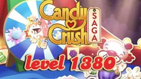 Candy Crush Saga Level 1380