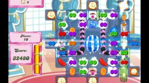 Candy Crush Saga Level 2658 (27 moves)