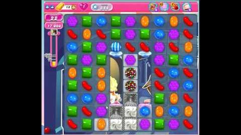 Candy Crush Saga Level 844 No Boosters