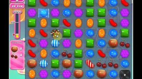 Candy Crush Saga Level 1210 Completed