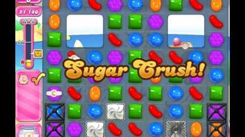 Candy Crush Saga Level 1968 ( New with 16 Moves ) No Boosters 1 Star