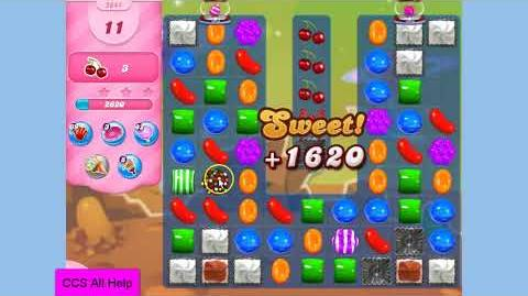 Candy Crush Saga Level 2644 20 moves NO BOOSTERS Cookie