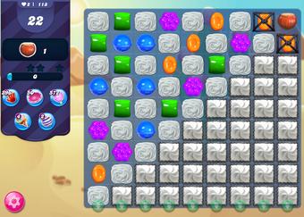 Candy crush level 113