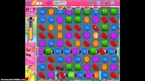 Candy Crush Saga 592 Walkthrough No Booster