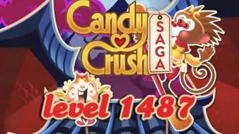 Candy Crush Saga Level 1487-0