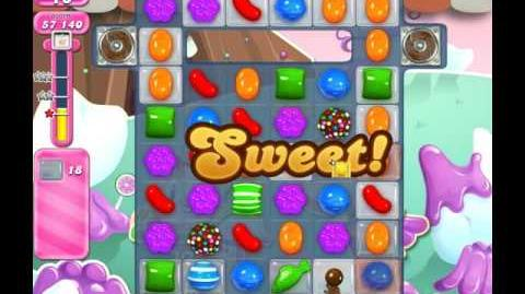 Candy Crush Saga Level 2044 ( New with 20 Moves ) No Boosters 3 Stars