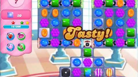 Candy Crush Friends Group Level 2887 One Hammer 3Stars