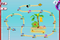 Taffy Tropics Map Mobile