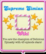 Supreme Simian