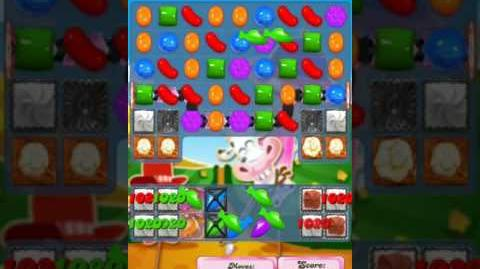 Candy Crush Level 2015 (2nd version, 17 moves)