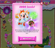 2000 levels reward