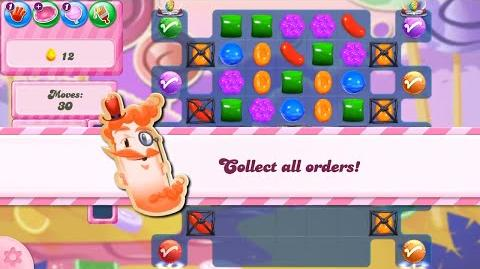 Candy Crush Saga Level 2825 NEW FORMAT no boosters