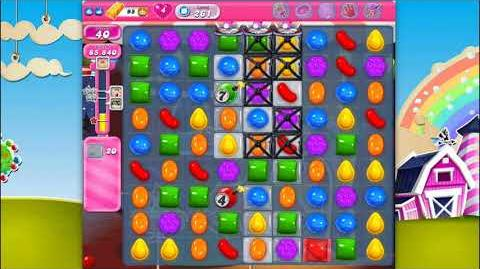 Candy Crush Saga - Level 261 - No boosters ☆☆☆
