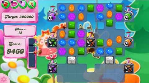 Candy Crush Saga Level 2492 (new version)