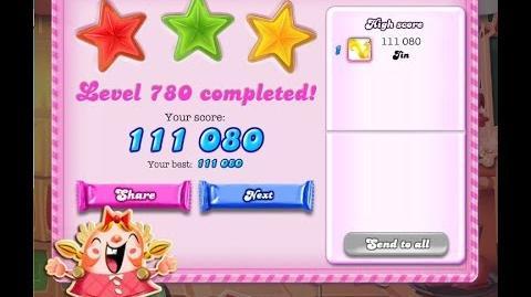 Candy Crush Saga Level 780 ★★★ NO BOOSTER
