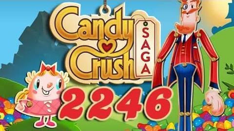 Candy Crush Saga Level 2246