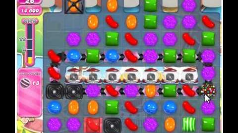 Candy Crush Saga Level 599 - No Boosters - 3 Stars