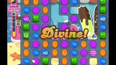 Candy Crush Saga Level 1741 ( New with 55 Seconds ) No Boosters 1 Star