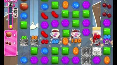 Candy Crush Saga LEVEL 2157 (24 moves) with Coconut Wheel booster