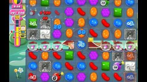 Candy Crush Saga Level 1925 ( New with Extra Time Candy Cannon ) No Boosters 2 Stars