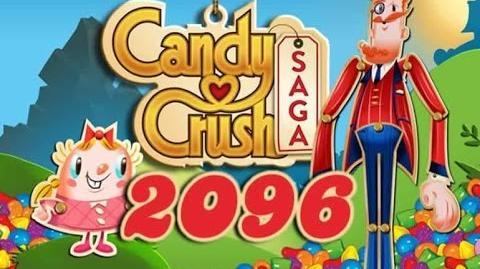 Candy Crush Saga Level 2096 - 7 Moves Left