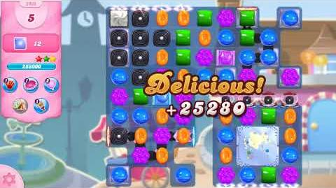 Candy Crush Saga Level 2968 NO BOOSTERS (14 moves)