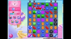 Candy Crush Level 2319 Audio Talkthrough, 2 Stars 0 Boosters