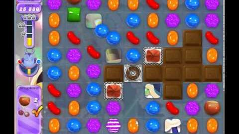 Candy Crush Saga Dreamworld Level 523 (3 star, No boosters)