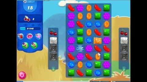 Candy Crush Saga Level 181 Walkthrough No Booster, 2 Stars, New Version