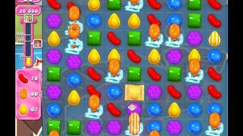 Candy Crush Saga Level 140 ( New with 50 Moves ) No Boosters 3 Stars