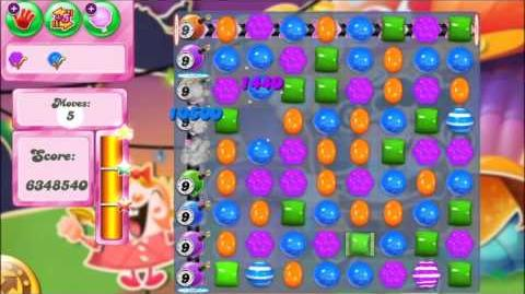 Candy Crush Saga Level 555 ★★★ World Record of 9,993,560 pts