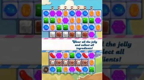 Candy Crush Level 3202 (16 moves, 4 candy colors)