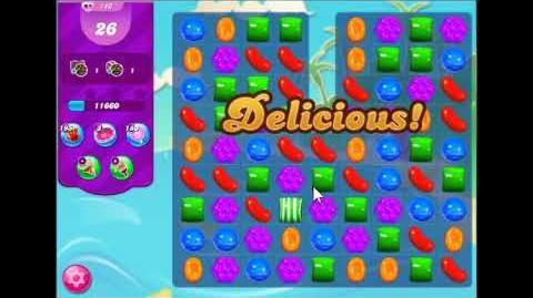 Candy Crush Saga Level 140 Walkthrough No Booster, 3 Stars New Version J