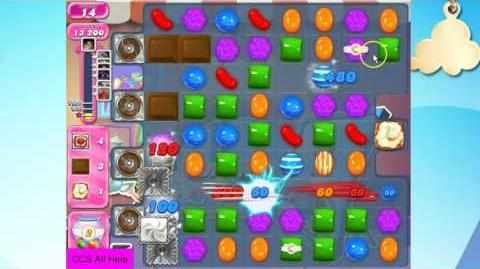 Candy Crush Saga Level 1985 NEW No lucky candies