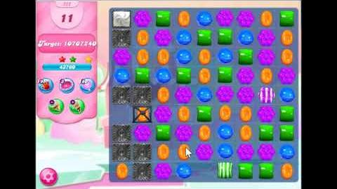 Candy Crush Saga Level 252 Walkthrough No Booster, 3 Stars New Version J