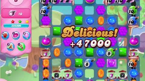 Candy Crush Saga Level 3057 NO BOOSTERS (13 moves)