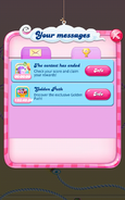 Striped Candy Contest Message2