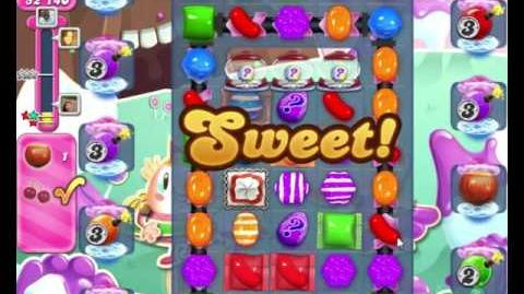 Candy Crush Saga LEVEL 2040 NO BOOSTERS (5-moves bombs)