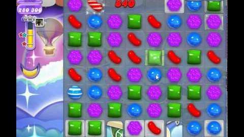 Candy Crush Saga Dreamworld Level 437 2nd version(No booster, 3 Stars)